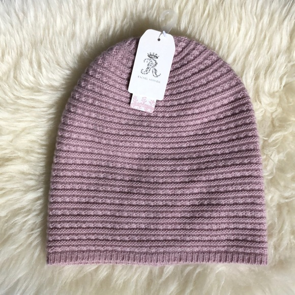 d01feaa9c Cashmere & Merino Wool Beanie Hat NWT